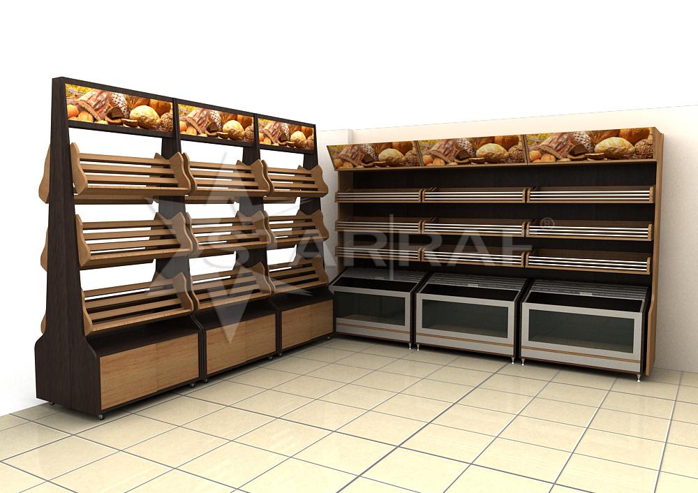 Cam �n� ekmek stand�